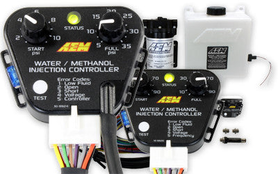 V2 Water/Methanol Injection Kit, HD Controller - Internal MAP with 40psi max, 200psi WM Pump, 5 Gallon Reservoir, Conductive Fluid Level Sensor