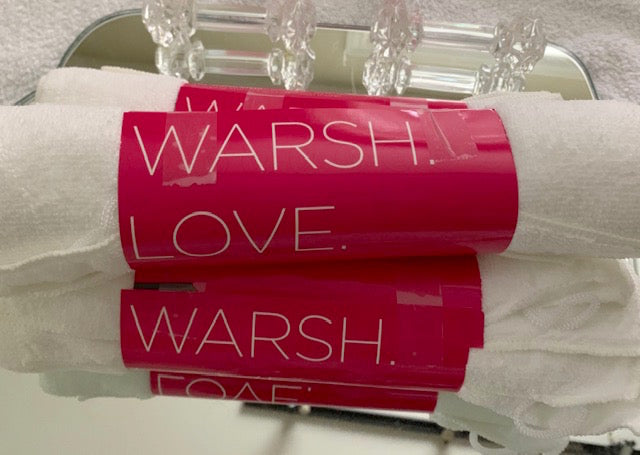 While Supplies Last - Buy a Bundle-Save a Bundle - Package of 6 Anti-Bacterial Warsh Cloths for Her