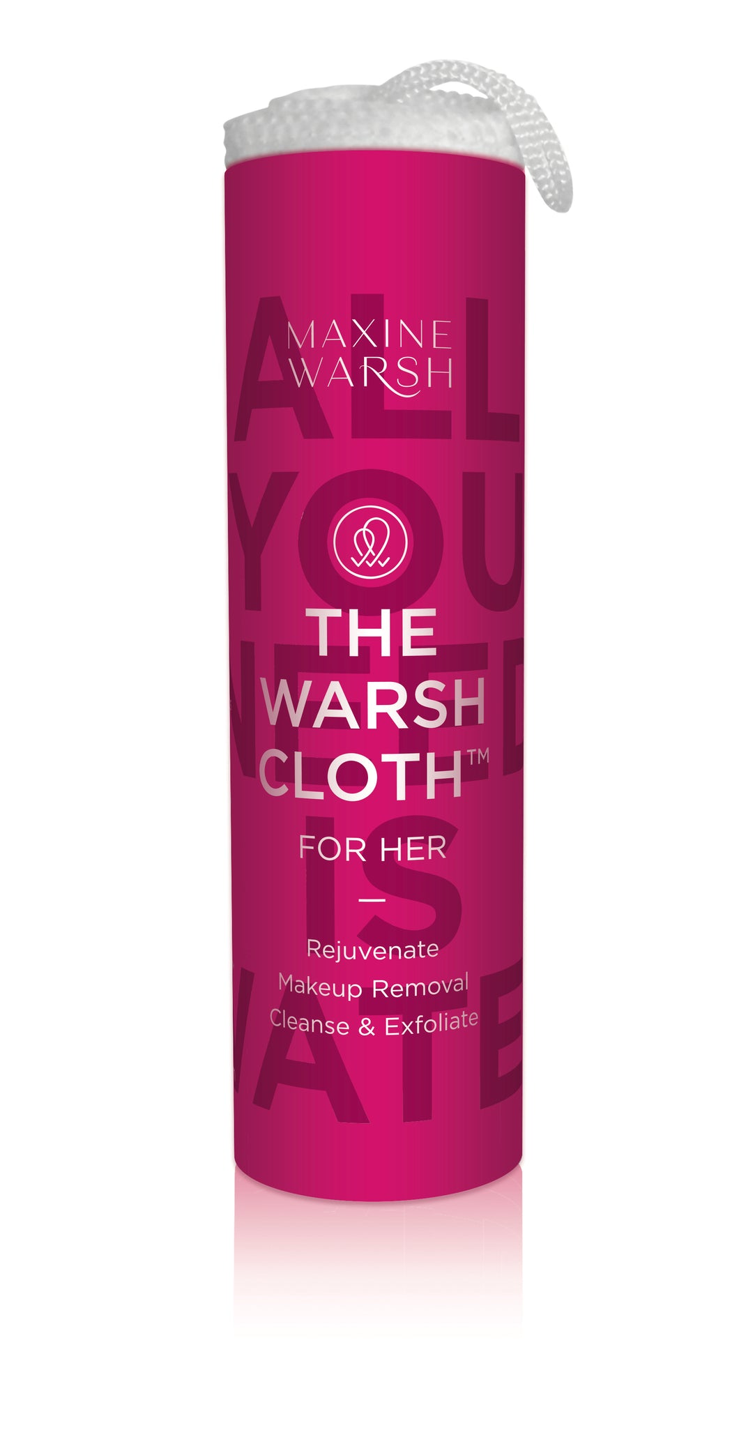 Rejuvenate for Her - SINGLE WARSH CLOTH   Anti-Bacterial Face Cloths