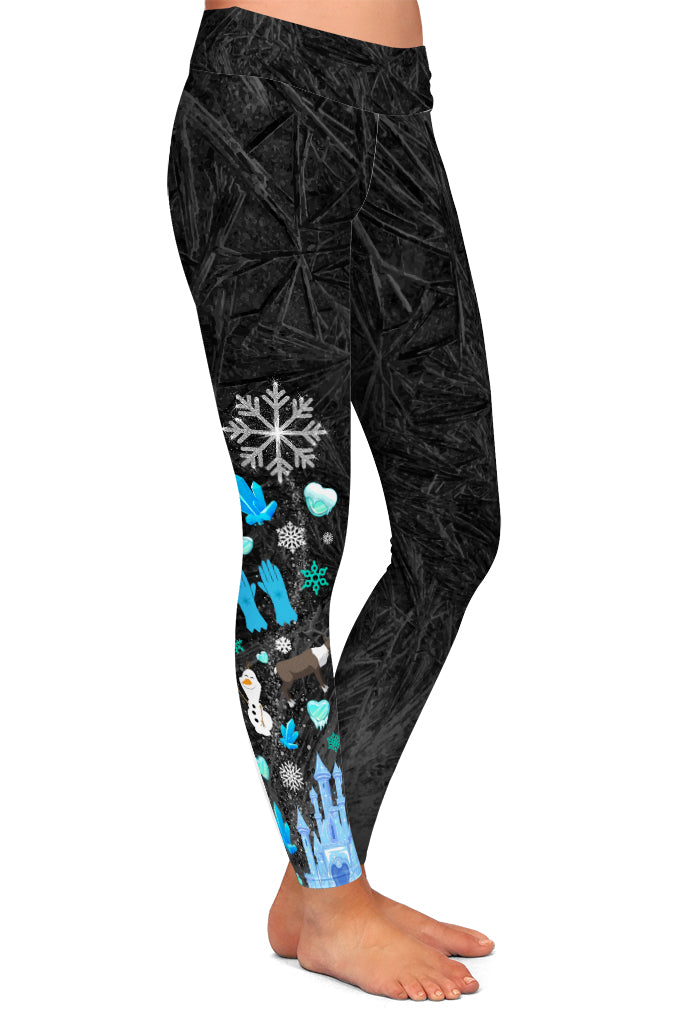 SNOW QUEEN LEGGINGS - YOGA - EXCLUSIVE!