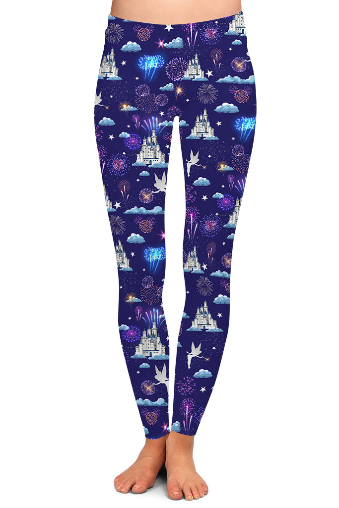 CELEBRATION CASTLE FULL LENGTH LEGGINGS - YOGA - EXCLUSIVE!