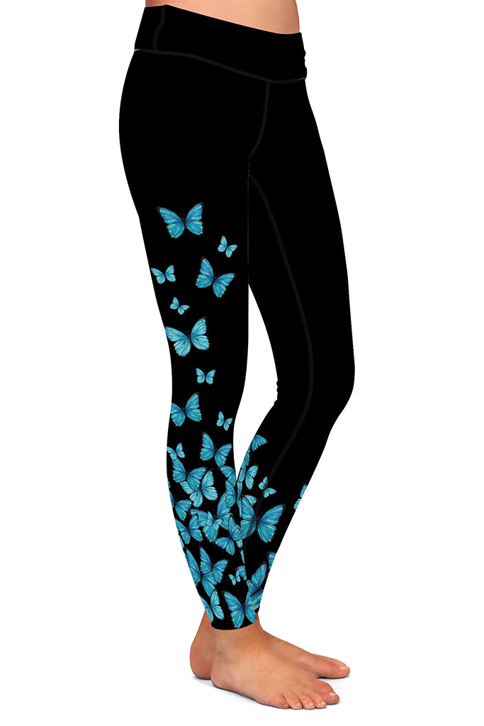 BLUE BUTTERFLIES - YOGA - EXCLUSIVE!