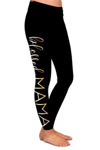 MOMMY AND ME BLESSED LEGGINGS - YOGA - EXCLUSIVE!