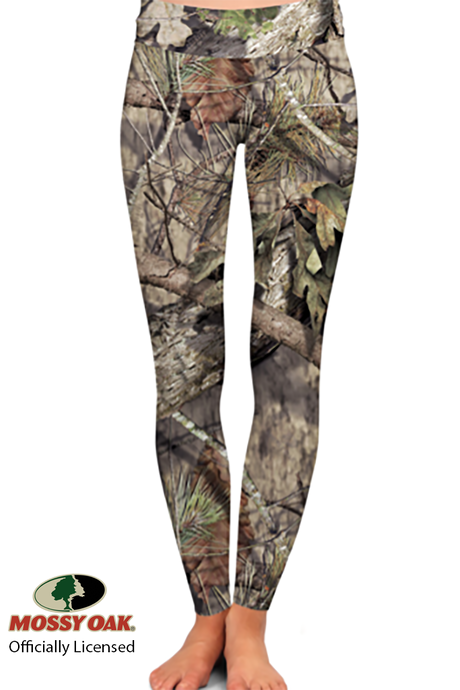 OFFICIALLY LICENSED MOSSY OAK BREAK UP COUNTRY LEGGINGS - YOGA - EXCLUSIVE!