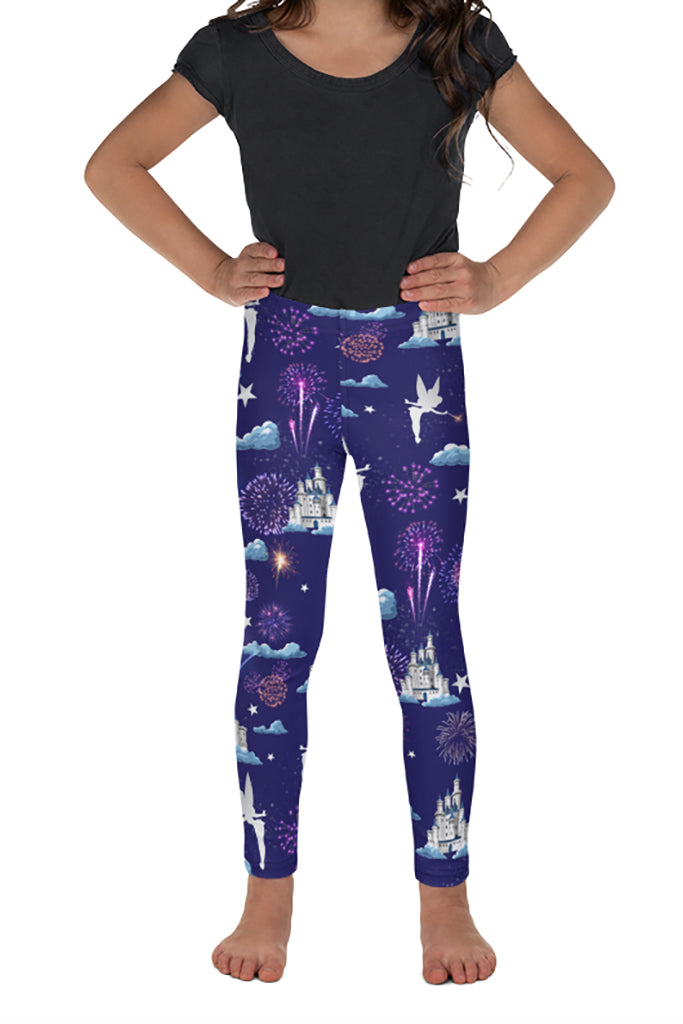 PRE ORDER KIDS CELEBRATION CASTLE LEGGINGS - YOGA - EXCLUSIVE!