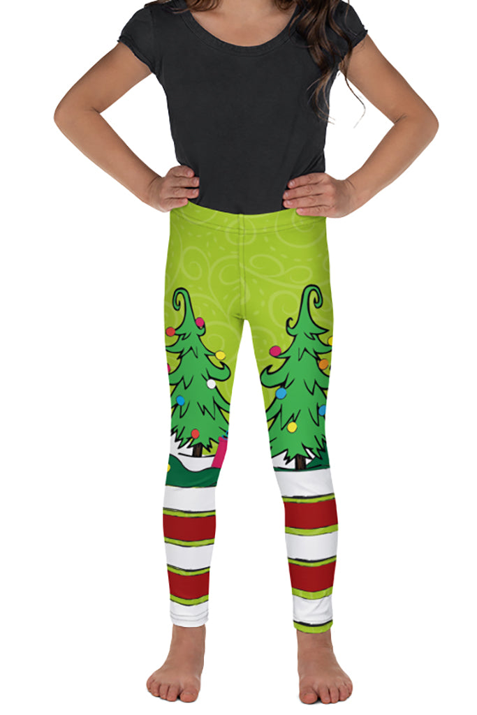PRE ORDER KIDS BECAUSE I'M GREEN LEGGINGS - YOGA - EXCLUSIVE! BATCH 1
