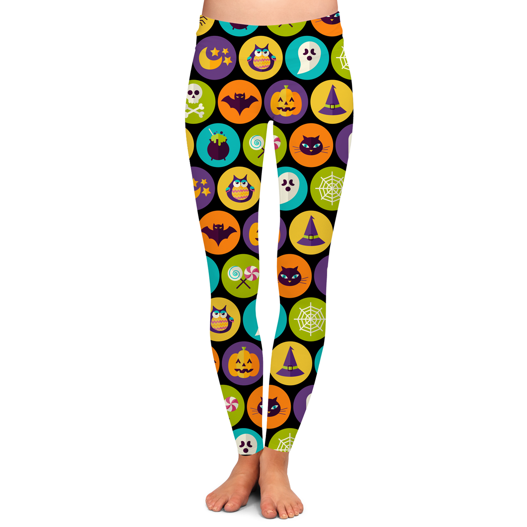 PRE ORDER ALL THE CLASSICS HALLOWEEN LEGGINGS - YOGA - EXCLUSIVE! BATCH 5