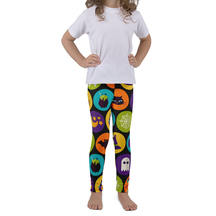 PRE ORDER KIDS ALL THE CLASSICS HALLOWEEN LEGGINGS - YOGA - EXCLUSIVE! BATCH 5