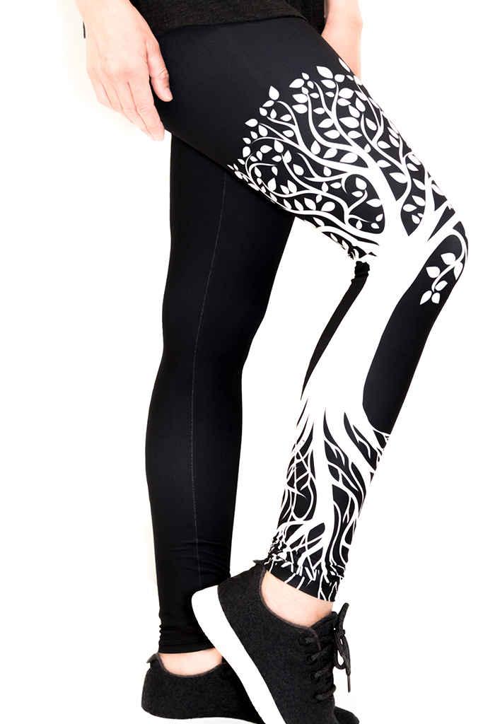 8943b9ec3d7f9f TREE OF LIFE LEGGINGS - YOGA - EXCLUSIVE! | Asher & Emery