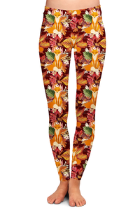FALL FOX LEGGINGS - YOGA - EXCLUSIVE!