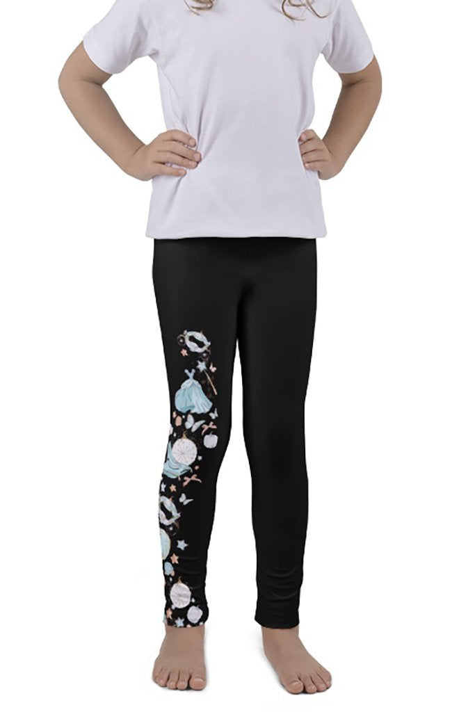 DS KIDS GLASS SLIPPER LEGGINGS - YOGA - EXCLUSIVE! (WHOLESALE)