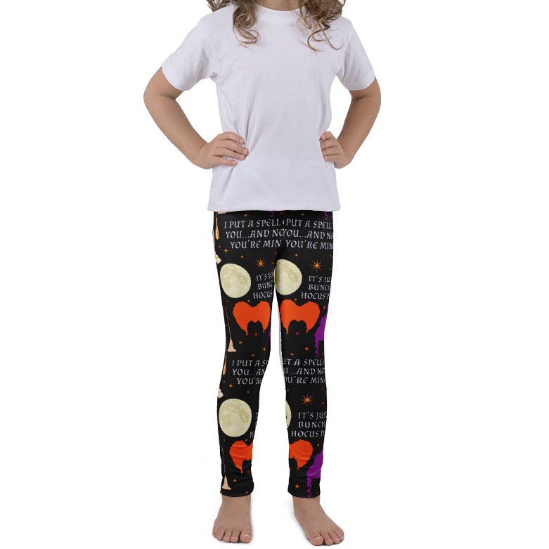 PRE ORDER KIDS HOCUS LEGGINGS - YOGA - EXCLUSIVE! BATCH 5