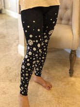 BLACK TIE LEGGINGS - YOGA - EXCLUSIVE!