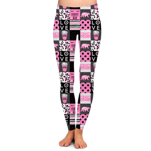 SPRING COLLECTION MOM LIFE 2.0 LEGGINGS - YOGA - EXCLUSIVE!