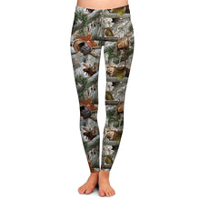 FOREST WILDLIFE LEGGINGS - YOGA - EXCLUSIVE!