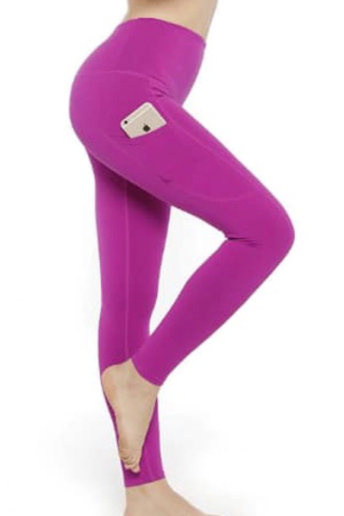 FULL LENGTH SPORTY POCKET LEGGINGS - YOGA - EXCLUSIVE!