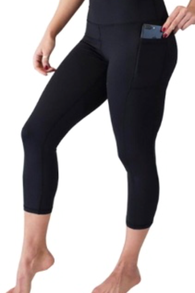 PRE ORDER CAPRI SPORTY POCKET LEGGINGS - YOGA - EXCLUSIVE! BATCH 2