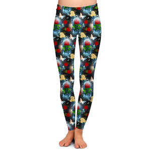 ENCHANTED ROSE LIMITED EDITION LEGGINGS - YOGA - EXCLUSIVE!