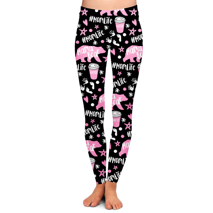 PRE ORDER MOM LIFE REBOOT PINK EDITION LEGGINGS - YOGA - EXCLUSIVE! BATCH 3