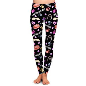 PRE ORDER DOG RESCUE LEGGINGS - YOGA - EXCLUSIVE! BATCH 1