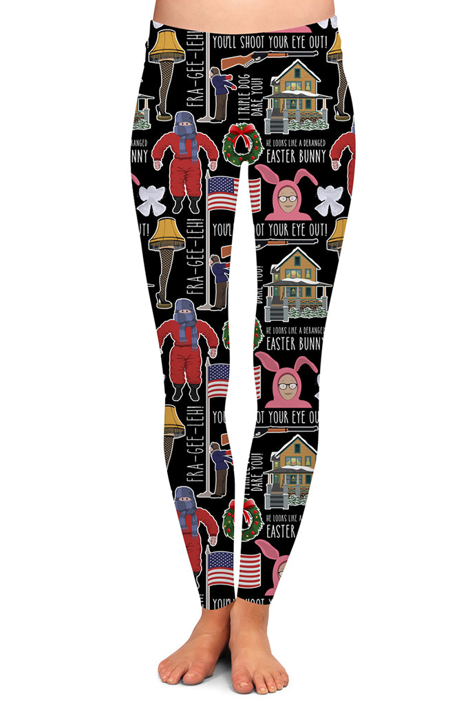 YOU'LL SHOOT YOUR EYE OUT LEGGINGS - YOGA - EXCLUSIVE!