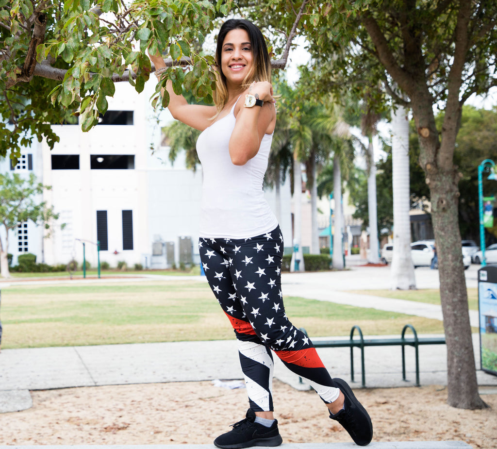 RED LINE LEGGINGS - YOGA - EXCLUSIVE!
