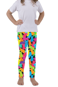 KIDS GUMMY BEAR LEGGINGS - YOGA - EXCLUSIVE!
