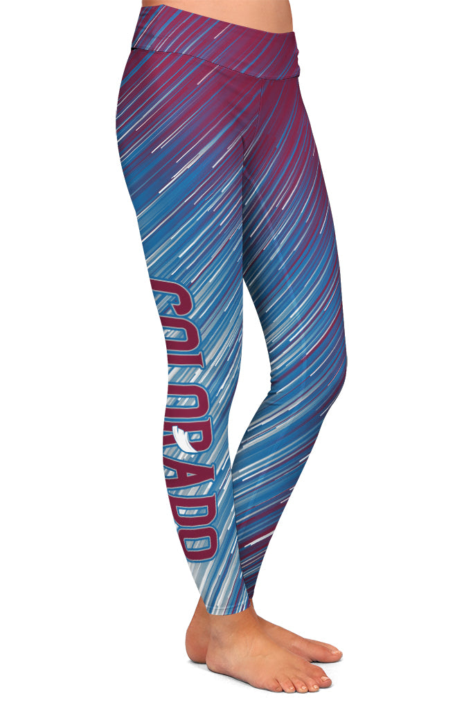 PRE ORDER COLORADO HOCKEY LEGGINGS - YOGA - EXCLUSIVE! BATCH 3