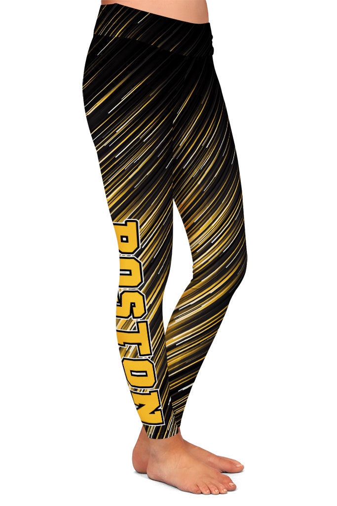 PRE ORDER BOSTON HOCKEY LEGGINGS - YOGA - EXCLUSIVE! BATCH 3
