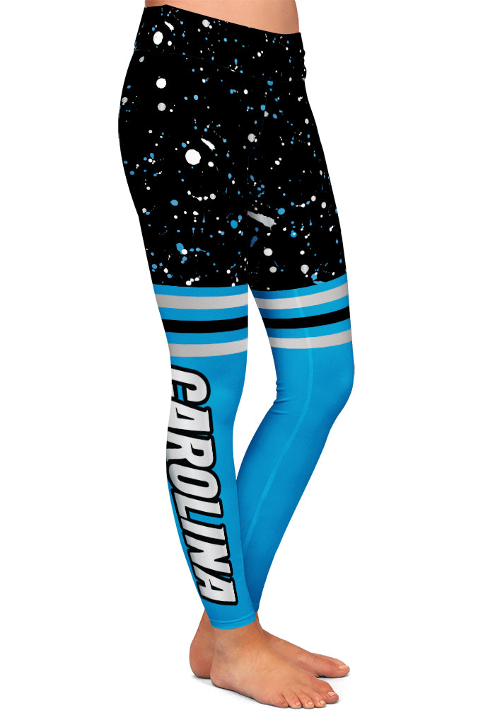CAROLINA FAN LEGGINGS - YOGA - EXCLUSIVE!