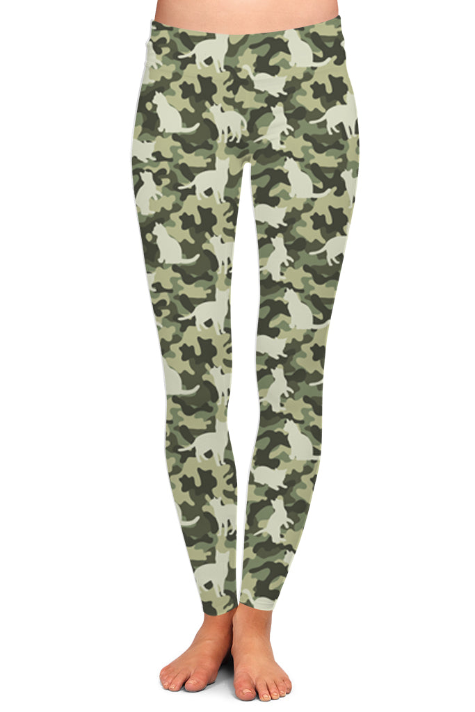CAT CAMO LEGGINGS - YOGA - EXCLUSIVE!
