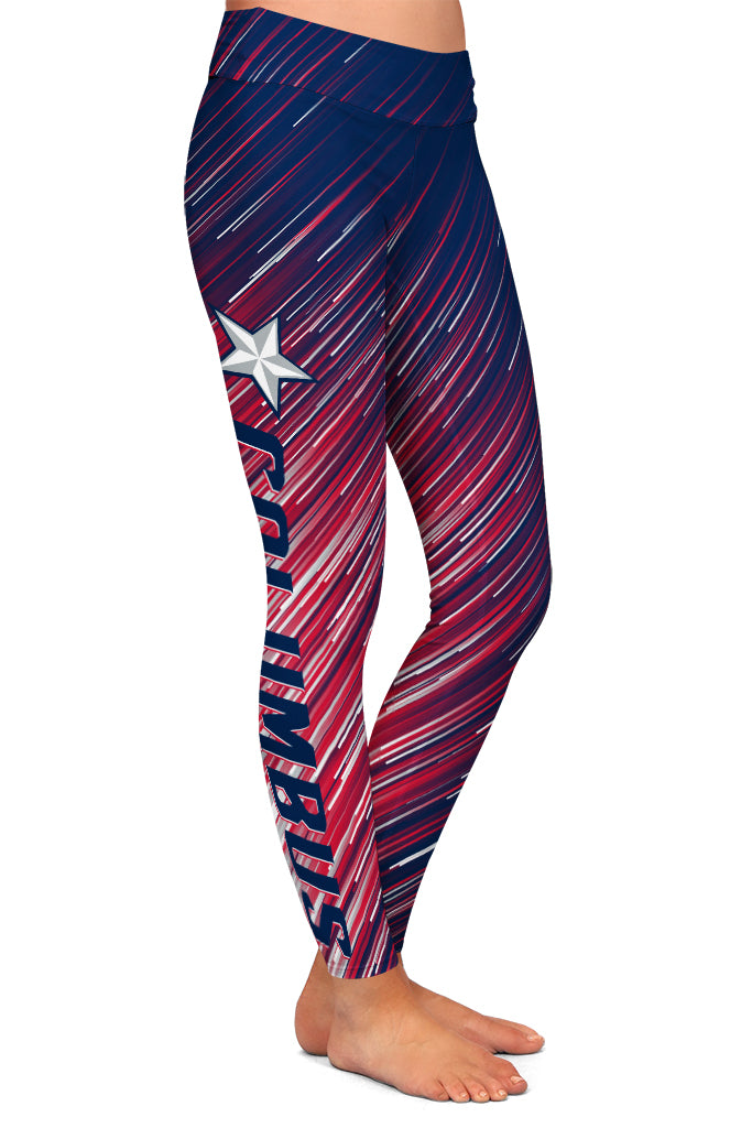 PRE ORDER COLUMBUS HOCKEY LEGGINGS - YOGA - EXCLUSIVE! BATCH 3