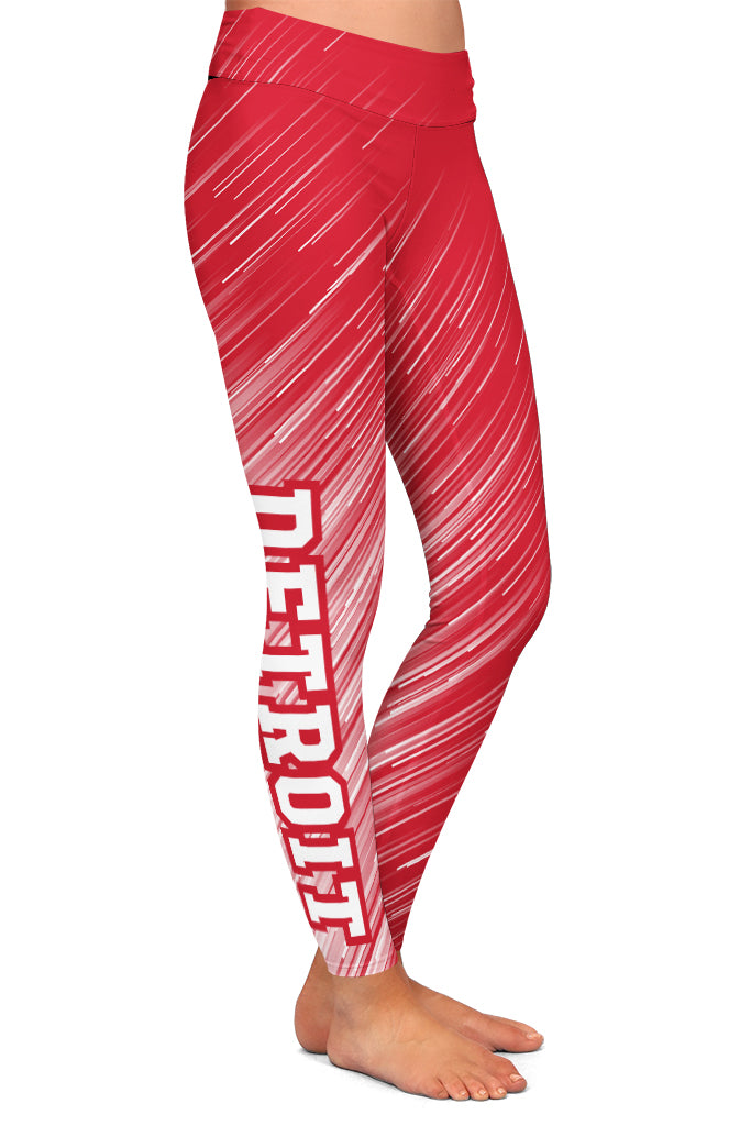 PRE ORDER DETROIT HOCKEY LEGGINGS - YOGA - EXCLUSIVE! BATCH 3