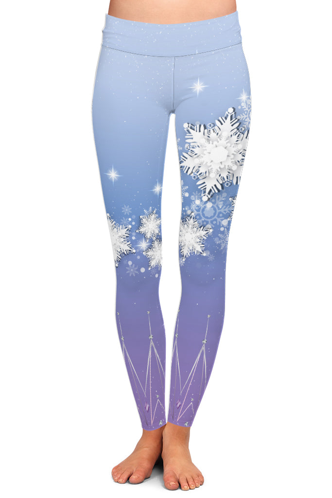 PRE ORDER ICE QUEEN LEGGINGS - YOGA - EXCLUSIVE! BATCH 3