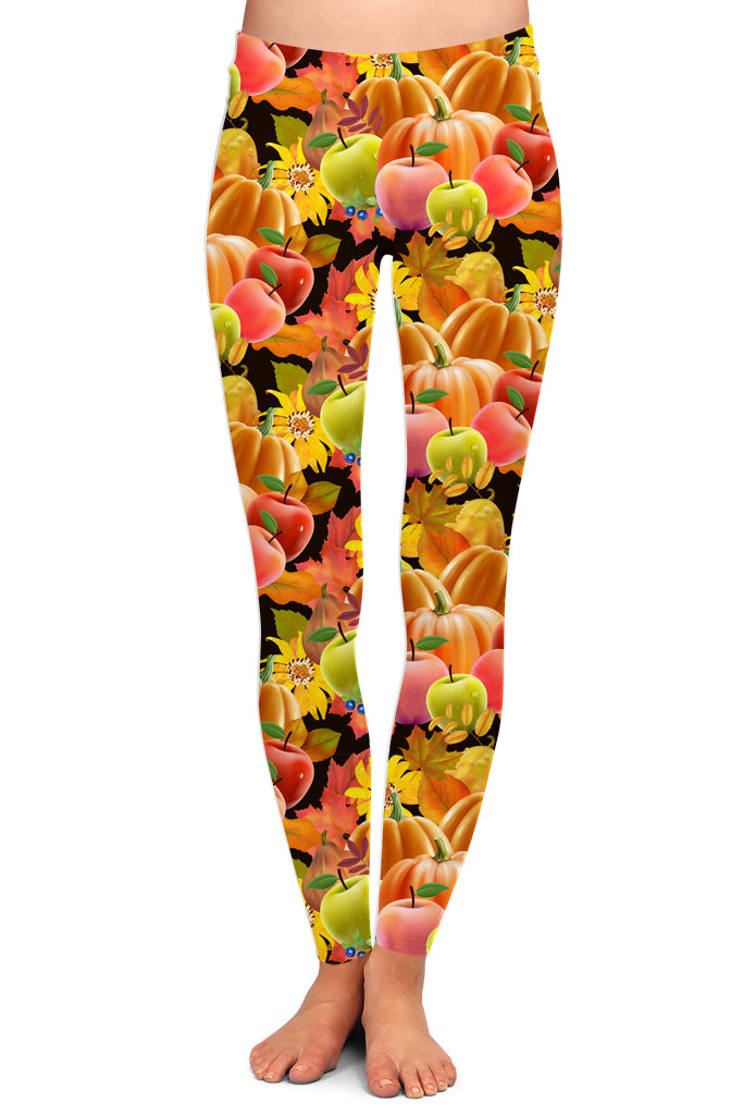 FALL APPLE LEGGINGS - YOGA - EXCLUSIVE!