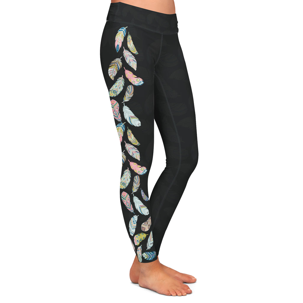 FEATHER LEGGINGS - YOGA - EXCLUSIVE!