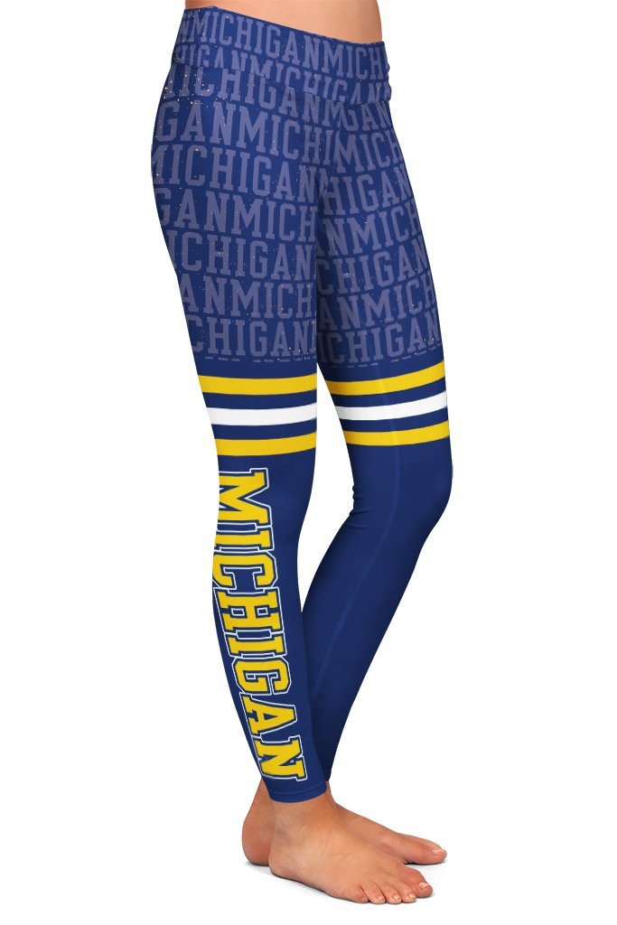 DS MICHIGAN FAN LEGGINGS - YOGA - EXCLUSIVE! (WHOLESALE)
