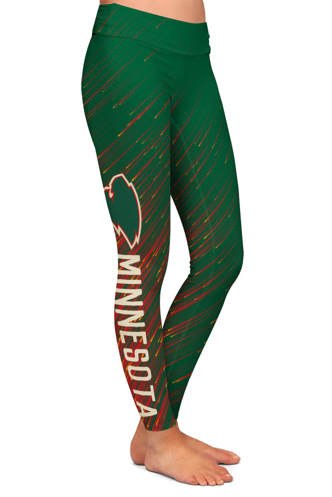 PRE ORDER MINNESOTA HOCKEY LEGGINGS - YOGA - EXCLUSIVE! BATCH 3