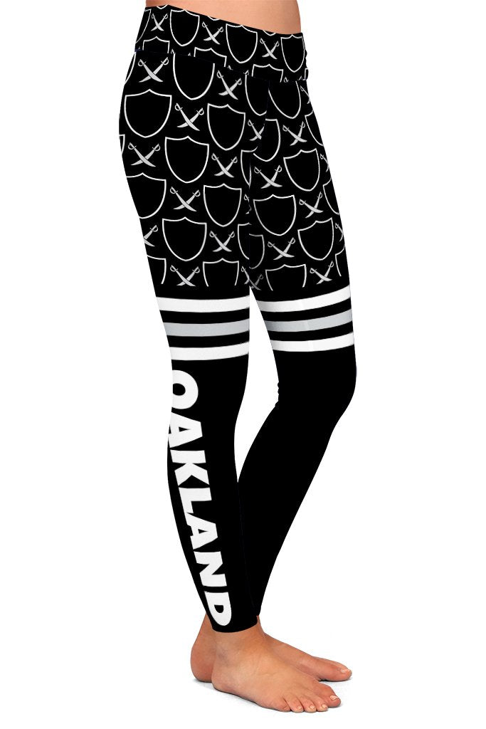 DS OAKLAND FAN LEGGINGS - YOGA - EXCLUSIVE! (WHOLESALE)