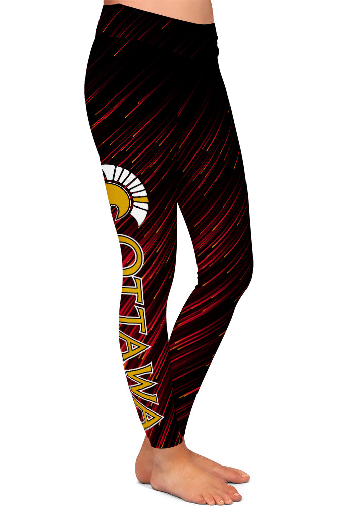 PRE ORDER OTTAWA HOCKEY LEGGINGS - YOGA - EXCLUSIVE! BATCH 3