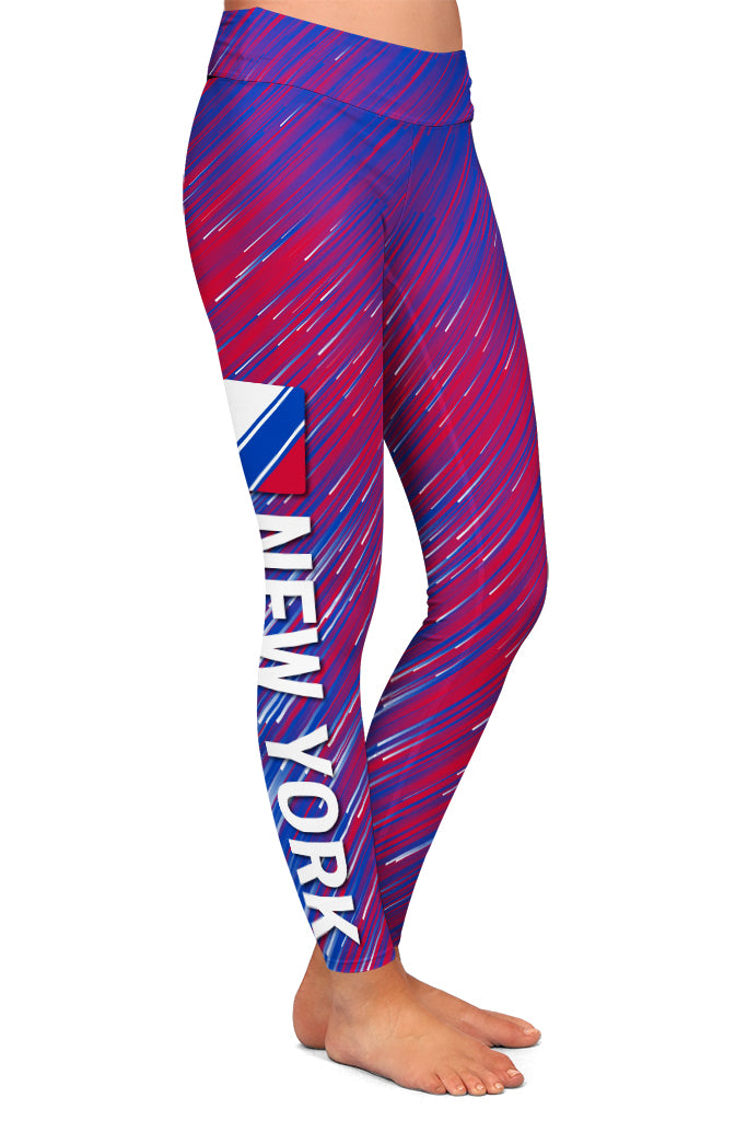 PRE ORDER NEW YORK HOCKEY LEGGINGS - YOGA - EXCLUSIVE! BATCH 3