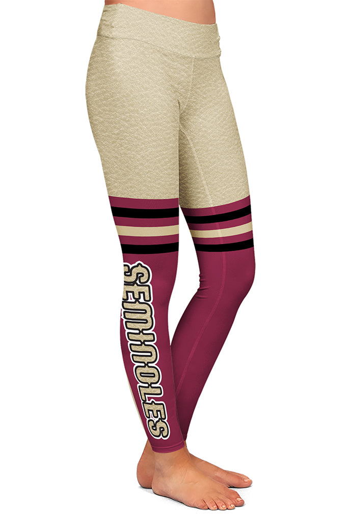 SEMINOLE FAN LEGGINGS - YOGA - EXCLUSIVE!