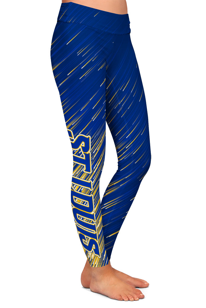 PRE ORDER ST. LOUIS HOCKEY LEGGINGS - YOGA - EXCLUSIVE! BATCH 3