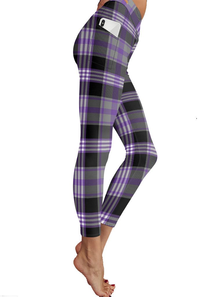 PRE ORDER FALL PLAID POCKET LEGGINGS - YOGA - EXCLUSIVE! BATCH 1