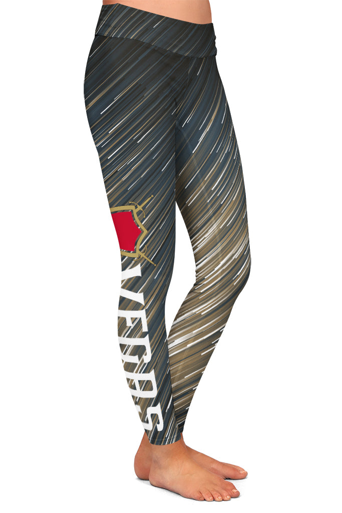 PRE ORDER VEGAS HOCKEY LEGGINGS - YOGA - EXCLUSIVE! BATCH 3