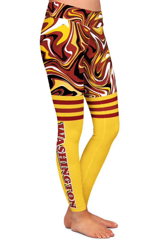 WASHINGTON FAN LEGGINGS - YOGA - EXCLUSIVE!