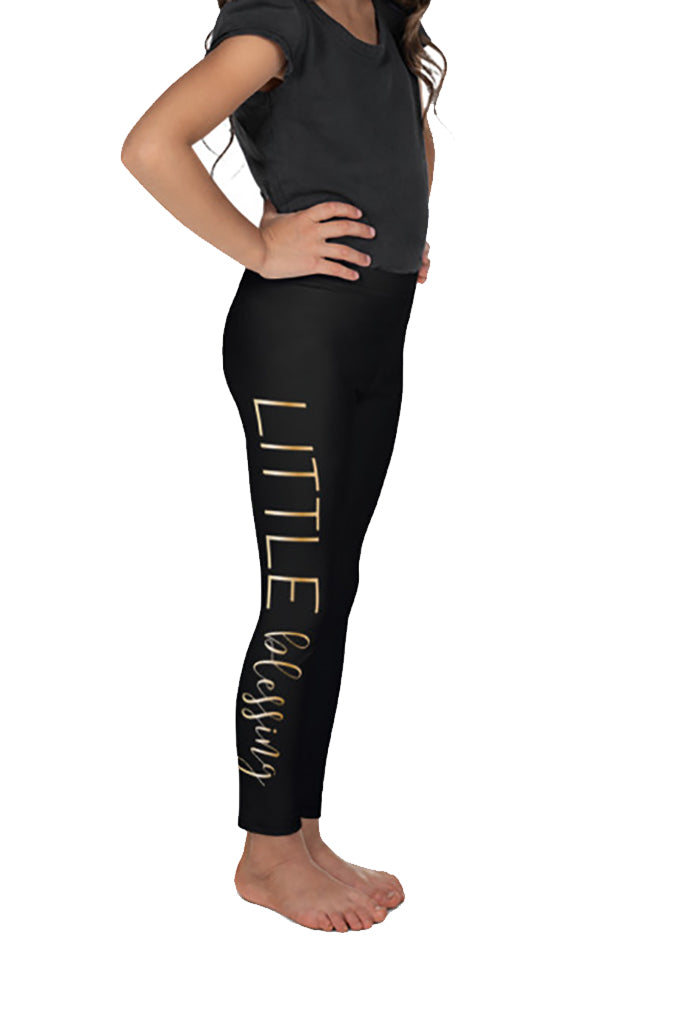 KIDS MOMMY AND ME BLESSED LEGGINGS - YOGA - EXCLUSIVE!