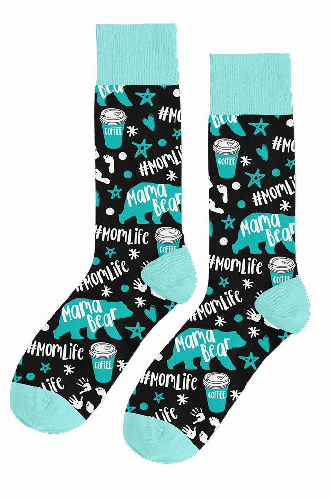 DS MAMA BEAR SOCKS - EXCLUSIVE (WHOLESALE)
