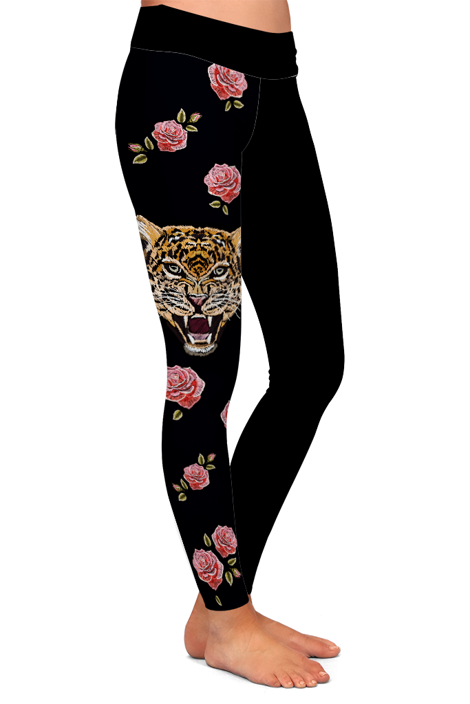 TIGER ROSES - YOGA - EXCLUSIVE!