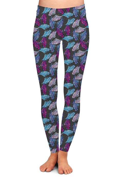PRE ORDER ANGEL WING LEGGINGS - YOGA - EXCLUSIVE! BATCH 6